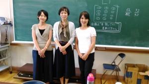 小学校で漢字の寺子屋